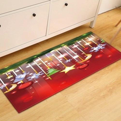 Christmas Style Non-slip Carpet Home Decoration