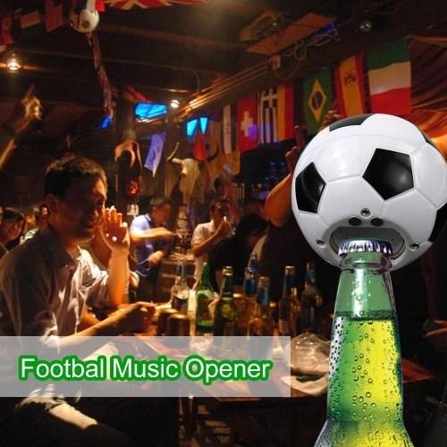 Football Team Gift Electric Music Bottle Opener