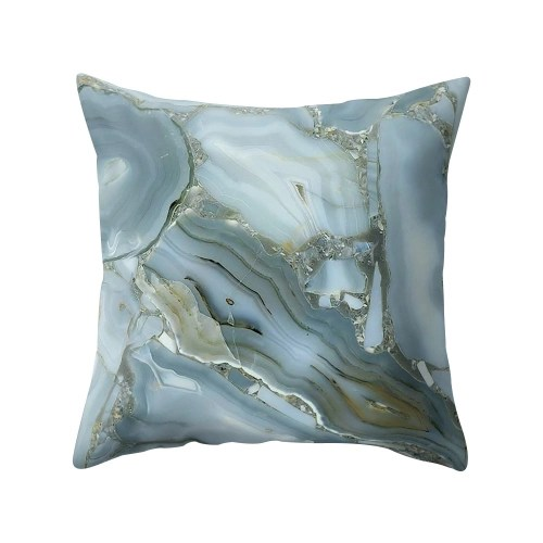 Colorful Pillowcase 45*45 Rosiest Geometric Marble Texture Pillow Case