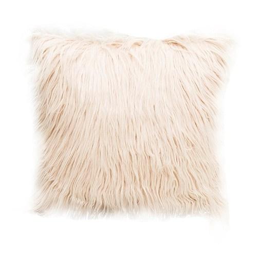 Long Plush Pillowcase Cushion Cover