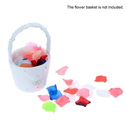 Colorful Wedding Perfect Simulation Flower Petals Romantic Vivid Artificial Flower