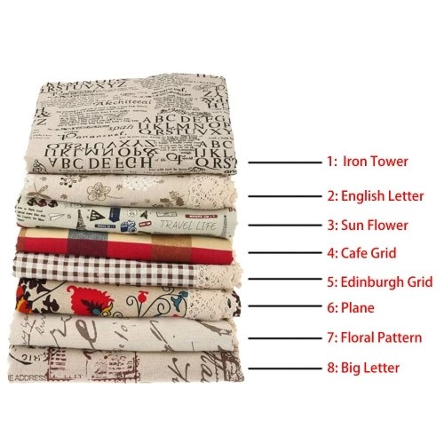 Cotton & Linen Table Cloth Dust-proof Table Cover