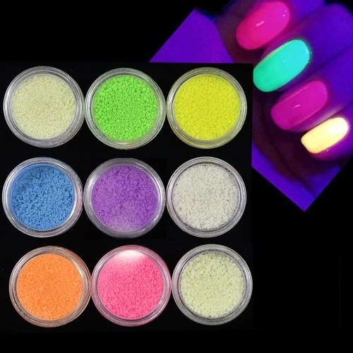 Colorful Beautiful Fluorescent Sand