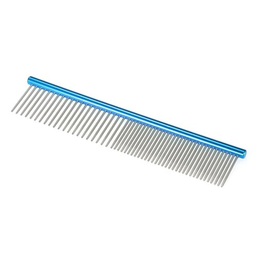 HATELI 6.3 Pet Grooming Comb Coarse and Fine Double-end Pet Comb