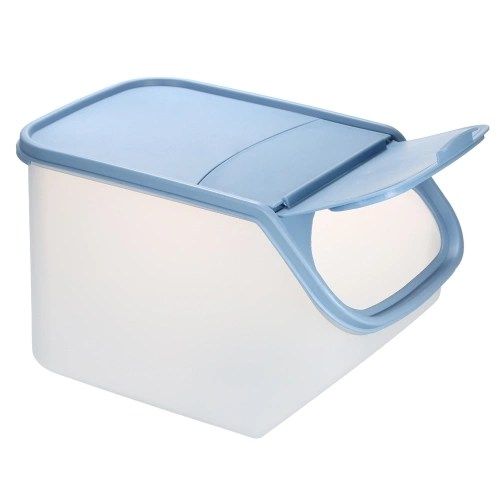 5L Plastic Food Storage Bin with Flip-Top Lid with Measurement Cup