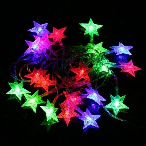 3 Meters Star Colorful LED String Lights