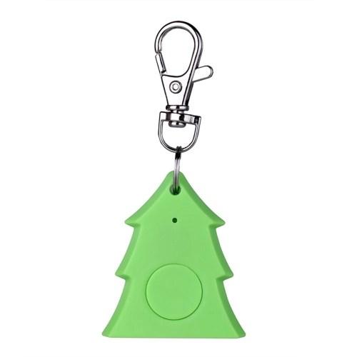 Mini Christmas Tree Design Smart Alarm Key Finder Anti-lost Tracker