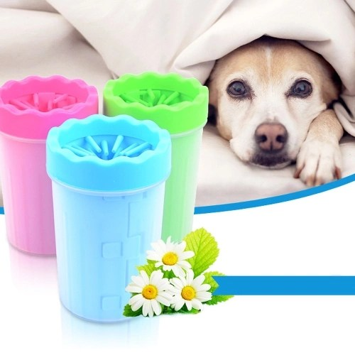 Rubber Soft Foot Clean Cup Washing Brush