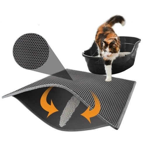 Premium Double Cat Litter Pad Box Trapper Mat