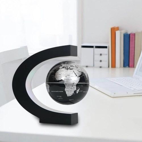 6 inch C Shape Magnetic Floating Globe Levitation Maglev Levitating Rotating Globe