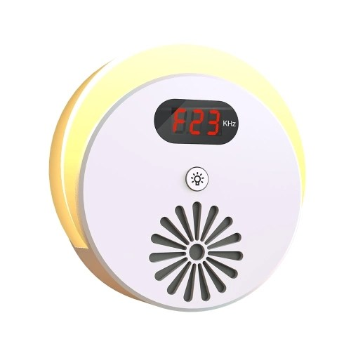 Ultrasonic Pest Mice Repeller LED Night Light