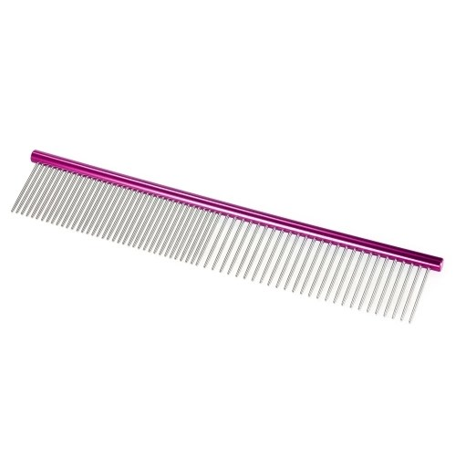 HATELI 7.4 Pet Grooming Comb Coarse and Fine Double-end Pet Comb