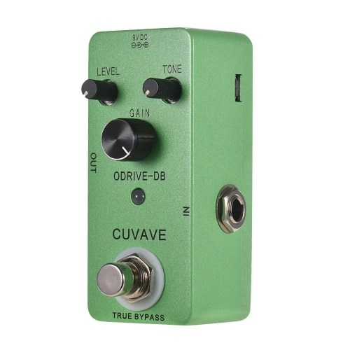 CUVAVE ODRIVE-DB Analog Overdrive Guitar Effect Pedal Zinc Alloy Shell True Bypass