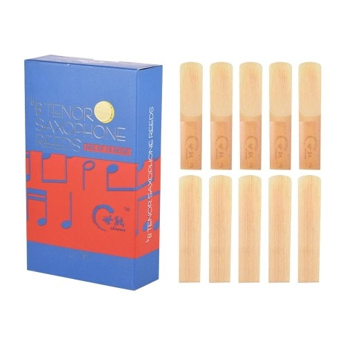 Professional Level Bb Tenor Saxophone Sax Reeds Strength 3.0 10pcs/ Box