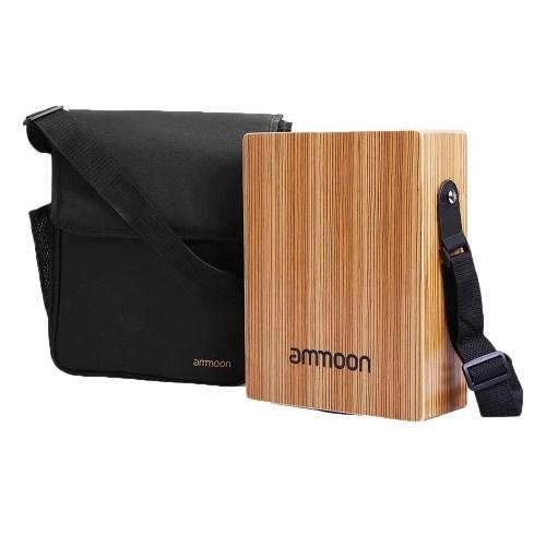 ammoon Portable Traveling Cajon Box Drum