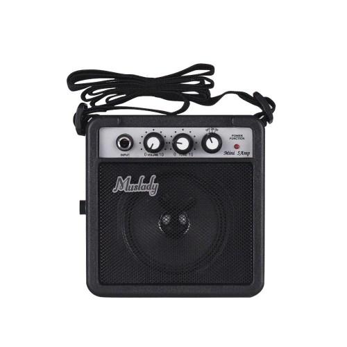 Muslady 5W Mini Guitar Amplifier Amp Speaker