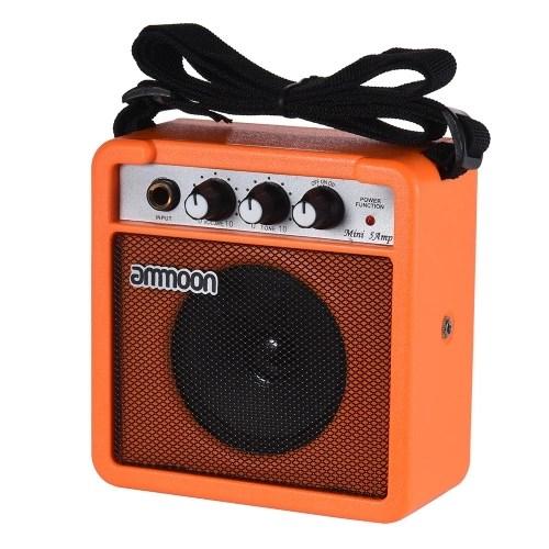 ammoon Mini High-Sensitivity  Amp Amplifier Speaker for Acoustic/ Electric Guitar Ukulele