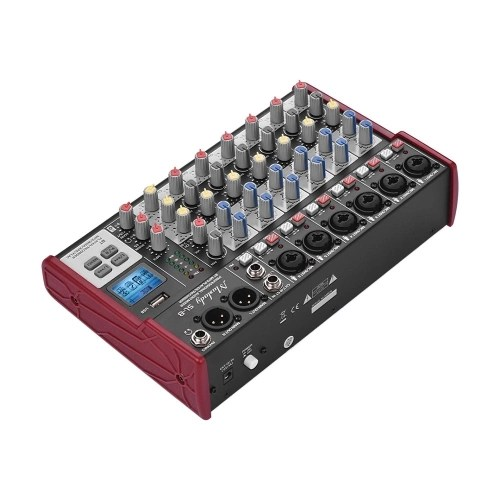 Muslady SL-8 Portable 8-Channel Mixing Console Mixer