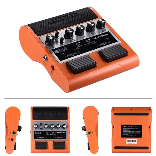 JOYO JAM BUDDY Amplificador de guitarra de estilo de pedal recargable portátil Amplificador de altavoz 2019
