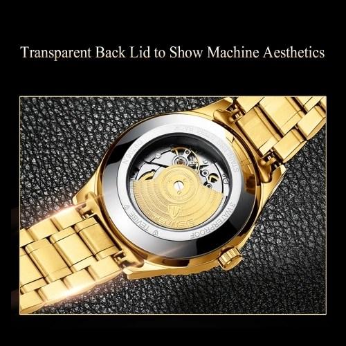 TEVISE Men Fashion Automatic Mechanical Wrist Watch