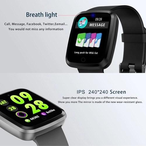 V6 Color Screen Smart Watch