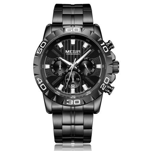 MEGIR 2087 Men Watch/ Quartz Sport Simple Wristwatch