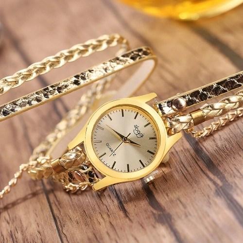 Fashion Vintage Casual Winding Serpentine Grain Braided Watch