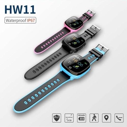 HW11 Children Family Pedometer Smart Watch