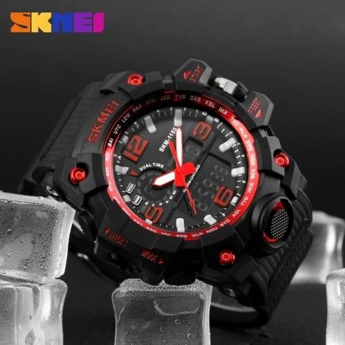 SKMEI LED Military Waterproof Wristwatch