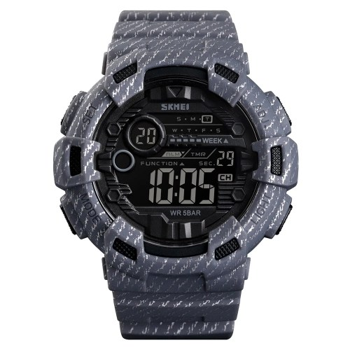 SKMEI 1472 Analog Digital Watch Luminous Outdoor Sport Watch Men Digital Watch