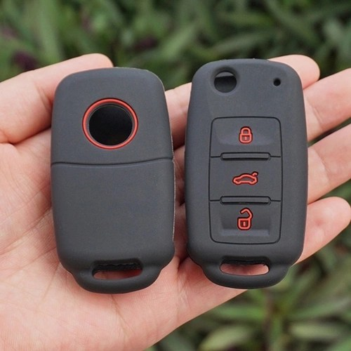 Fine-quality Silicone Rubber Key Fob Skin Cover Case Set