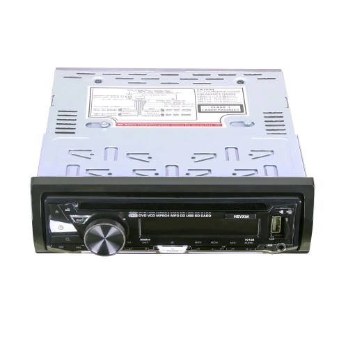Single Din 12V Car DVD CD Player with BT 7010B Vehicle MP3 Stereo Handfree Autoradio Audio Radio Wireless Remote Control