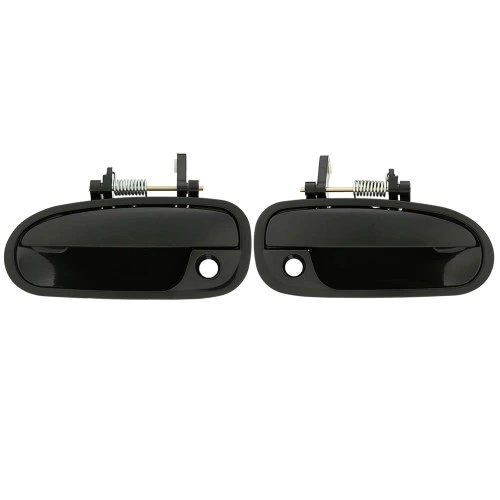 1 Pair Outside Exterior Door Handle Front Left + Right for Honda Civic 1996-2000