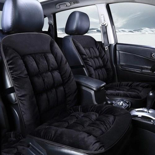 4 Seasons Universal Plush Slip Cushion Car Seat Cushion Accessories