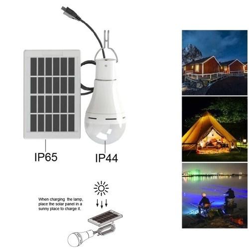 DC5-6V 7W 20 LEDs Solar Powered Energy Light