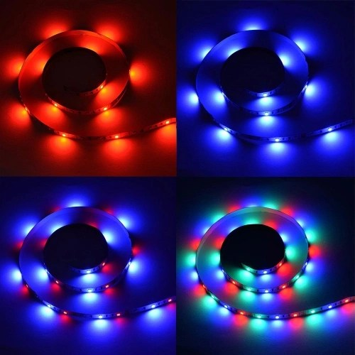 DC5V 18W 3 Meters 180 LEDs RGB Strip Light with Remote Control