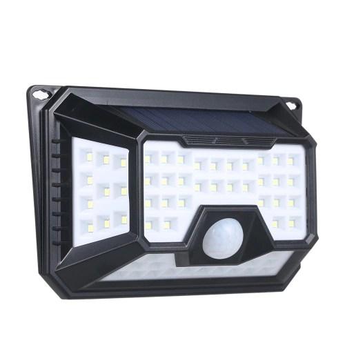 66 LEDs Solar Light PIR Motion Sensor Wall Lamp
