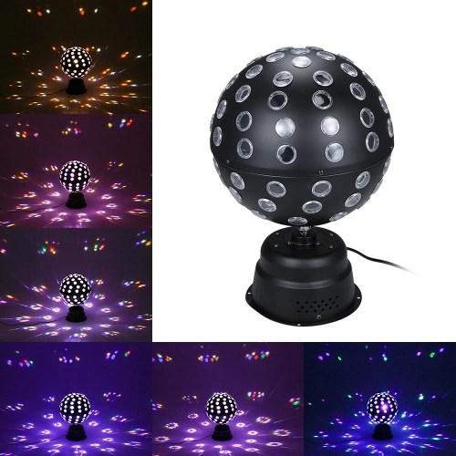 AC90-240V 30W 9 LEDs Rotatable Mini Magic Ball Stage Light(460 * 280 * 150mm)