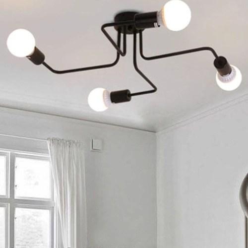 Creative Retro Metal Ceiling Light