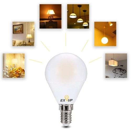 5Pcs 110-130V LED Light Bulbs 7W E14 LED Spotlight Bulb Lamp