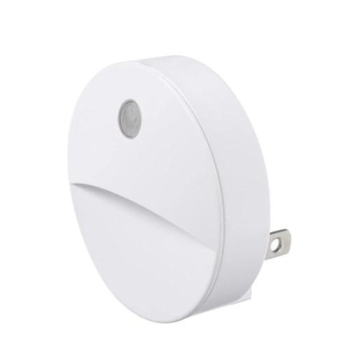 4PCS AC220V 0.5W LED Night Light Beside Lamp with Sensitive Light Sensor