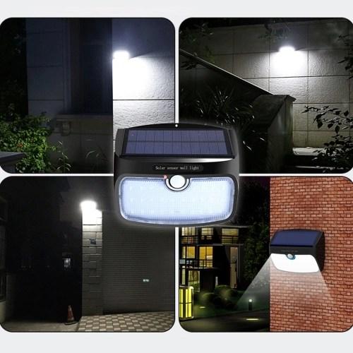 38 LEDs Split Type LED Solar Power Light