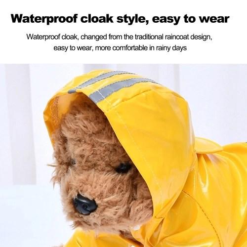 Pet Dog Reflective Raincoat