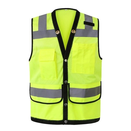 Safety Reflective Vest Workwear Security Working Clothes