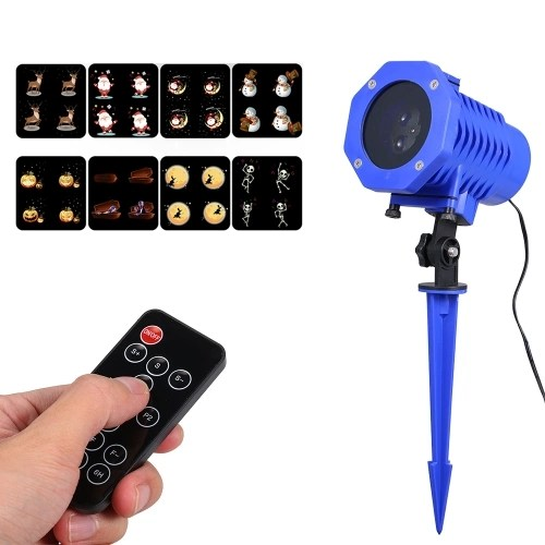 4 LEDs Animated Projector Stage Light Waterproof Laser Projector