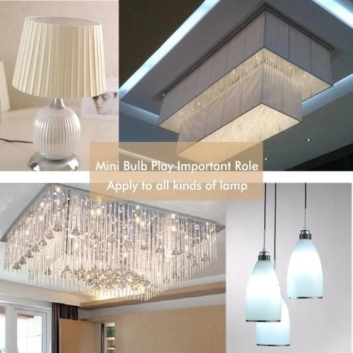 220V 2W G9 Base COB LED Mini Corn Light Bulb for Pendant Chandelier Desk Table Decoration Lamp