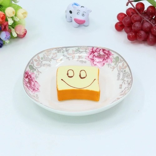 Slow Rising Squishy Funny Expression Bread Squeeze Toy Scented Soft Phone Straps Pendant Decompression Toys