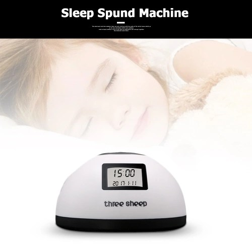 Baby Sleep sound machine With 8 Soothing Sounds Timer Alarm Clock