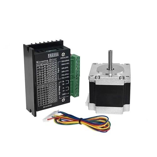 Aibecy 23HS5628 Stepper Motor 6.5mm Shaft Diameter TB6600 Stepping Motor Driver Controller
