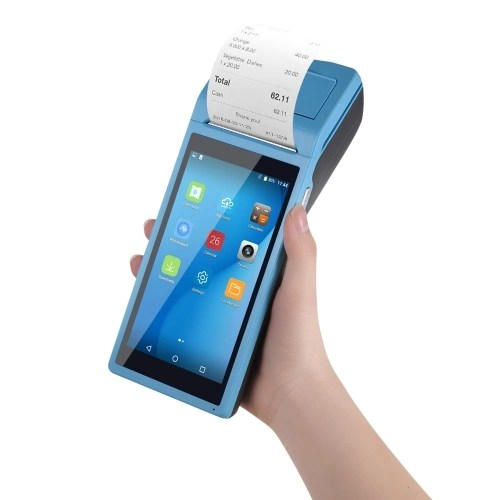 All in One Handheld PDA Printer Smart POS Terminal